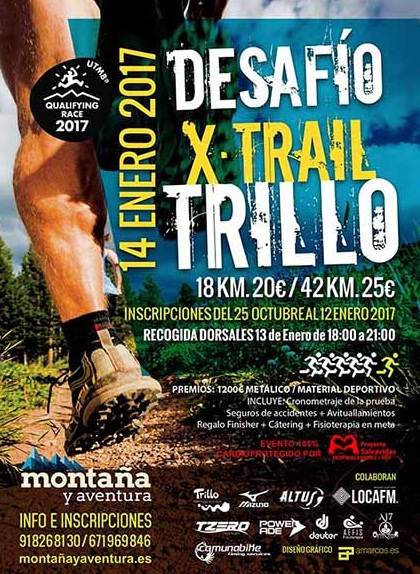 Cartel Desafío X-Trail Trillo 2017